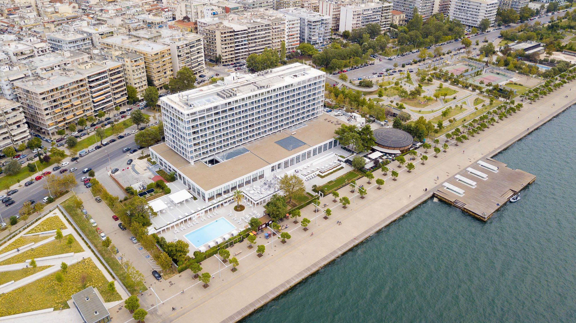 Makedonia Palace Hotel Panoramic View